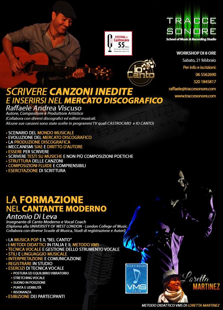 Workshop di musica, Roma
